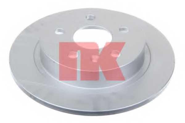 Тормозной диск NK 203668 - изображение