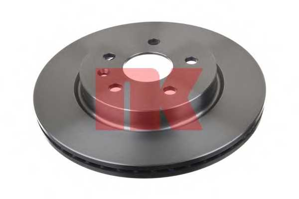 Тормозной диск NK 203670 - изображение