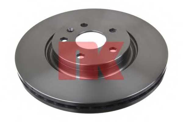Тормозной диск NK 203671 - изображение 1