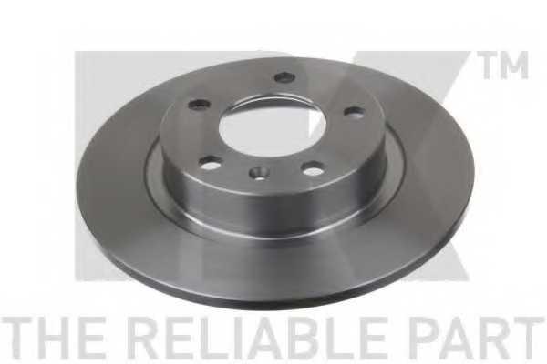 Тормозной диск NK 203672 - изображение 1
