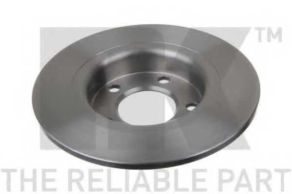 Тормозной диск NK 203672 - изображение