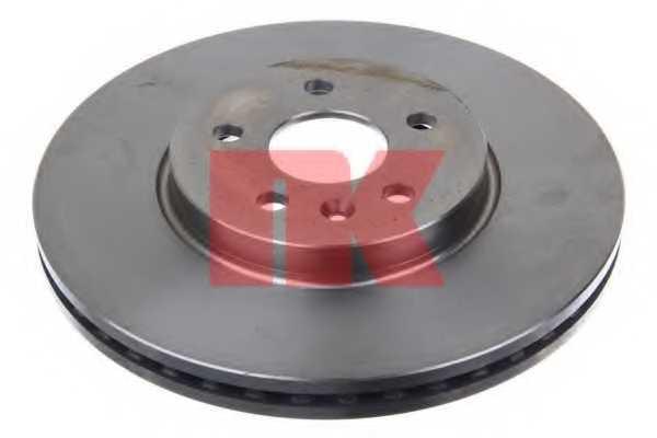 Тормозной диск NK 203677 - изображение 1