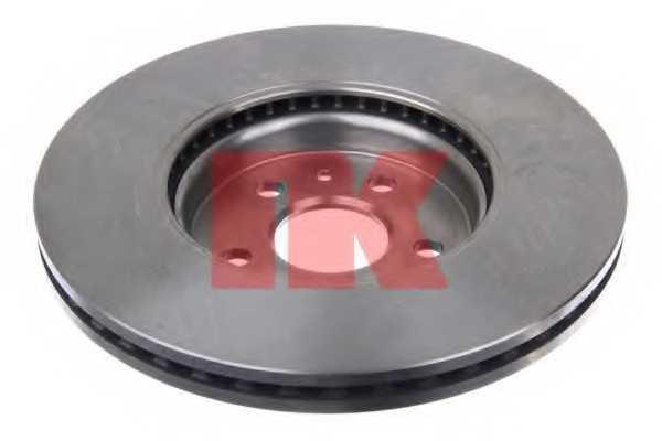 Тормозной диск NK 203677 - изображение