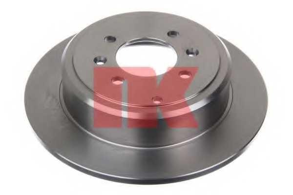 Тормозной диск NK 203721 - изображение