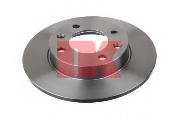 Тормозной диск NK 203722 - изображение 1