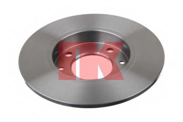 Тормозной диск NK 203722 - изображение