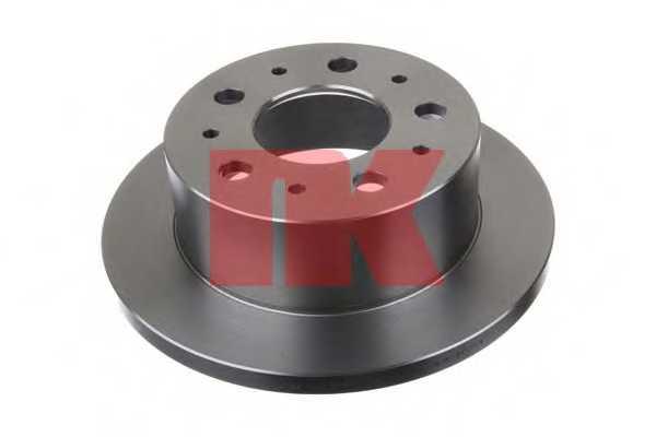 Тормозной диск NK 203732 - изображение
