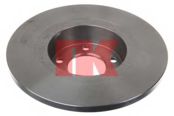 Тормозной диск NK 203736 - изображение
