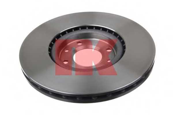 Тормозной диск NK 203737 - изображение 1