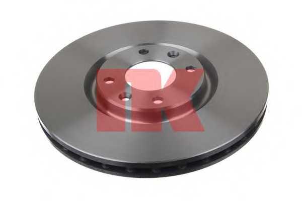 Тормозной диск NK 203737 - изображение