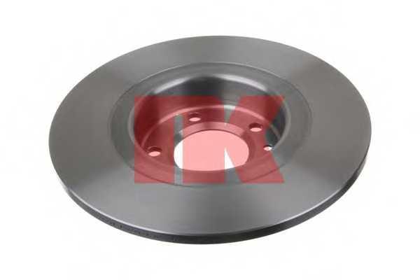 Тормозной диск NK 203744 - изображение 1