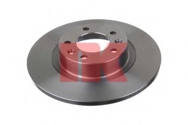 Тормозной диск NK 203744 - изображение
