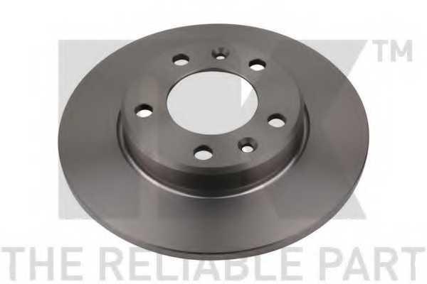 Тормозной диск NK 203748 - изображение 1