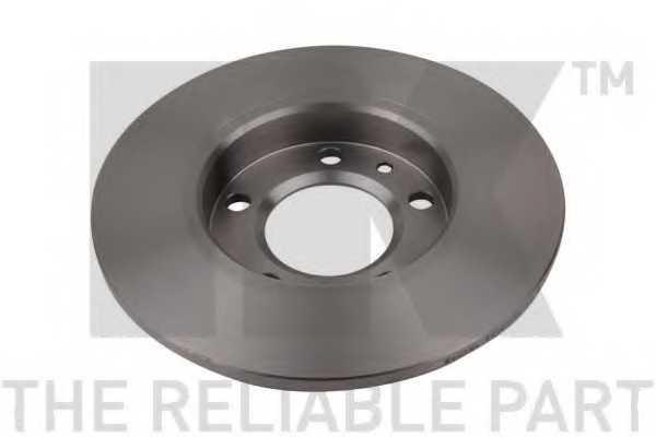 Тормозной диск NK 203748 - изображение
