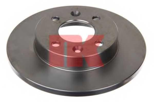 Тормозной диск NK 203908 - изображение