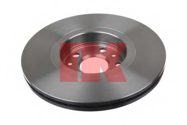 Тормозной диск NK 2039101 - изображение 1