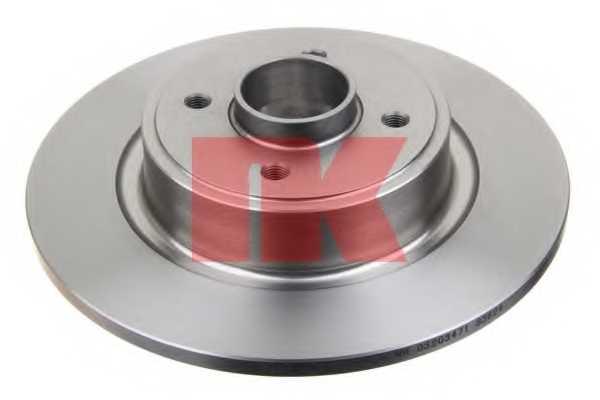 Тормозной диск NK 203935 - изображение