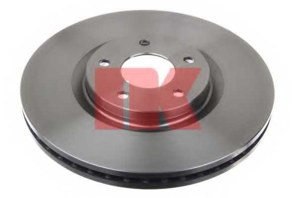 Тормозной диск NK 203968 - изображение