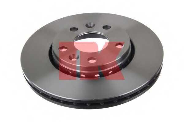 Тормозной диск NK 203970 - изображение