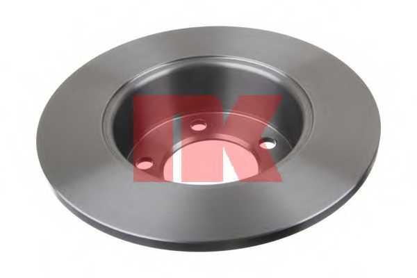 Тормозной диск NK 203978 - изображение