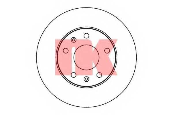 Тормозной диск NK 204014 - изображение