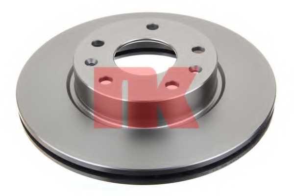 Тормозной диск NK 204020 - изображение