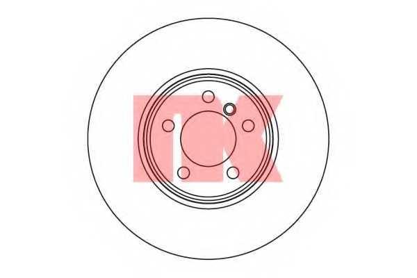 Тормозной диск NK 204025 - изображение