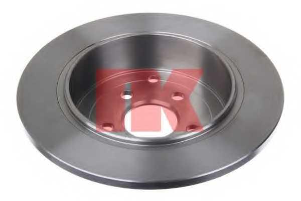 Тормозной диск NK 204031 - изображение 1