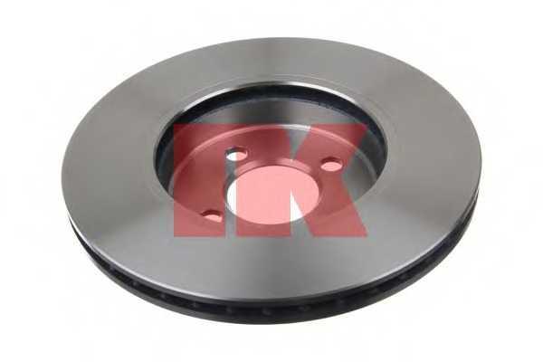 Тормозной диск NK 204034 - изображение 1