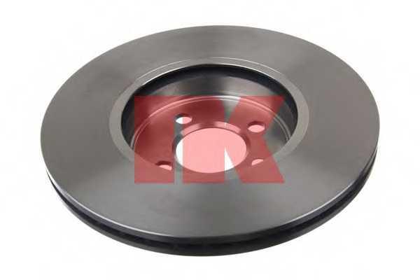 Тормозной диск NK 204035 - изображение