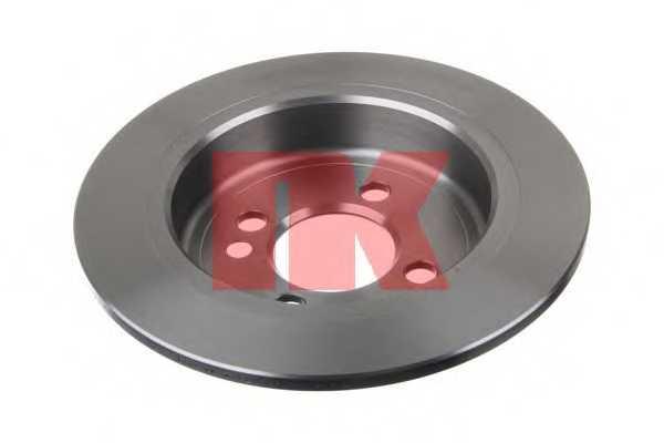 Тормозной диск NK 204036 - изображение 1