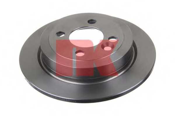 Тормозной диск NK 204036 - изображение