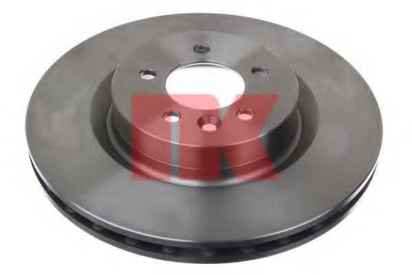 Тормозной диск NK 204037 - изображение 1