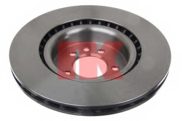 Тормозной диск NK 204037 - изображение