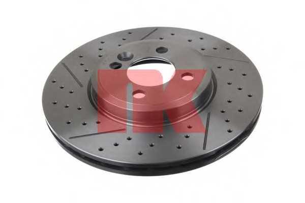 Тормозной диск NK 204038 - изображение
