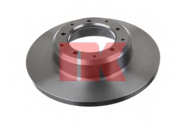 Тормозной диск NK 204039 - изображение 1