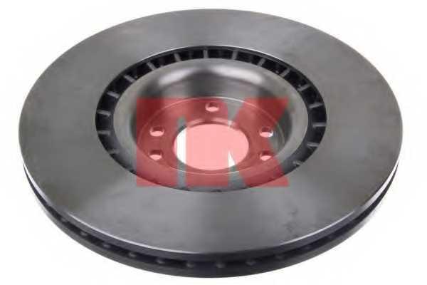 Тормозной диск NK 204112 - изображение 1