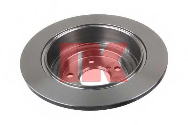 Тормозной диск NK 204404 - изображение 1