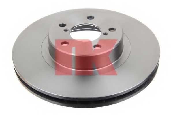 Тормозной диск NK 204406 - изображение 1