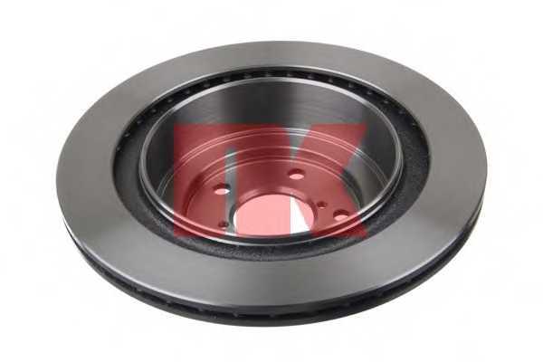 Тормозной диск NK 204414 - изображение 1