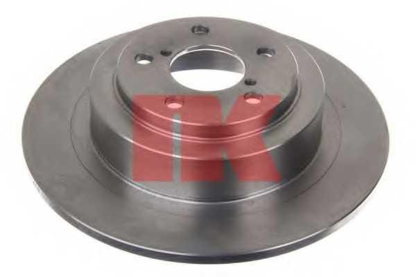 Тормозной диск NK 204415 - изображение 1