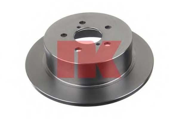 Тормозной диск NK 204416 - изображение 1