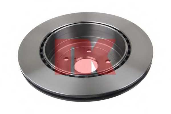 Тормозной диск NK 204424 - изображение 1