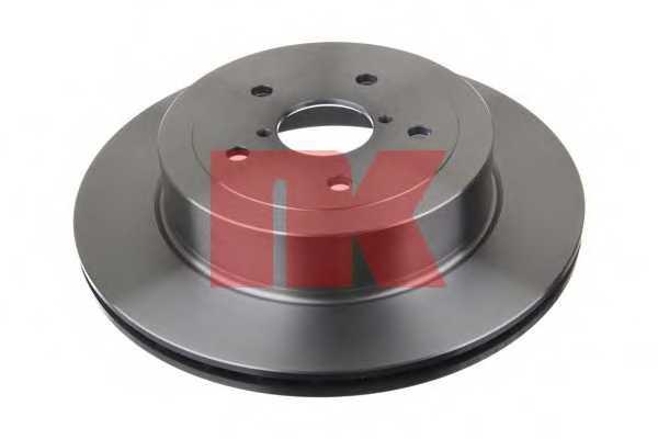 Тормозной диск NK 204424 - изображение