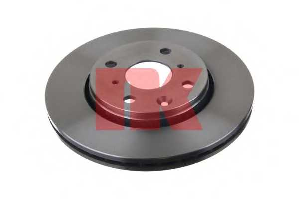 Тормозной диск NK 2045102 - изображение