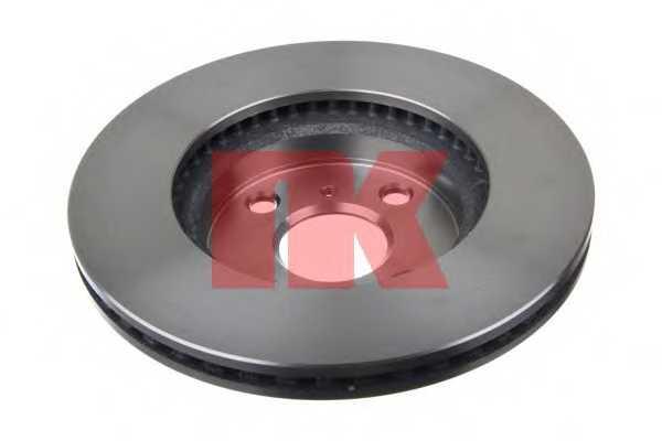 Тормозной диск NK 2045107 - изображение 1