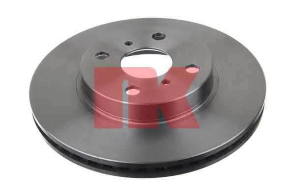 Тормозной диск NK 2045107 - изображение