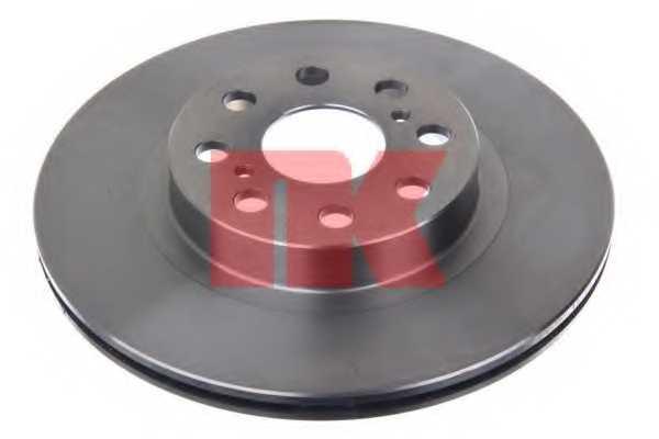 Тормозной диск NK 2045110 - изображение 1