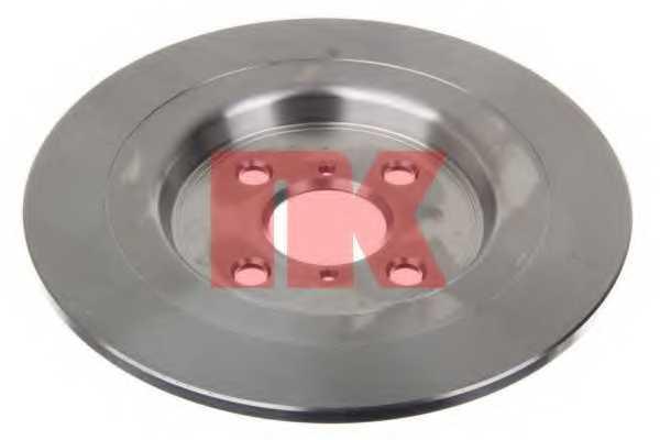 Тормозной диск NK 2045111 - изображение