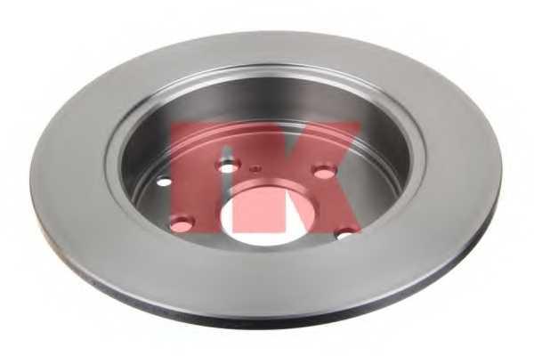 Тормозной диск NK 2045112 - изображение 1